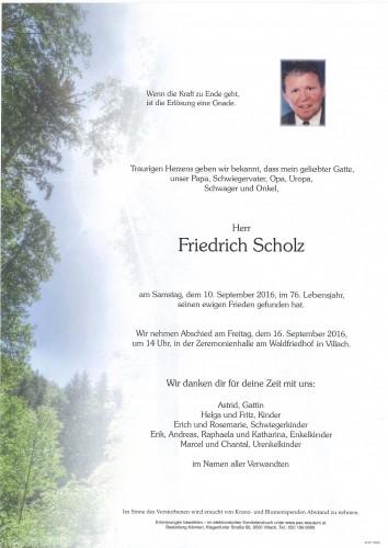 Friedrich Scholz