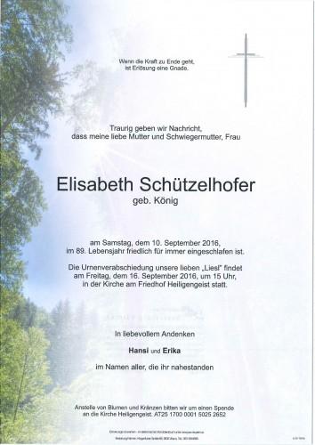 Elisabeth Schützelhofer