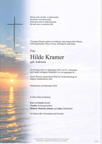 Brunhilde Kramer