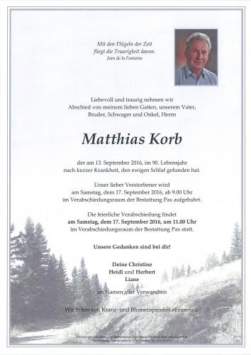 Matthias Korb