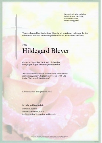 Hildegard Bleyer