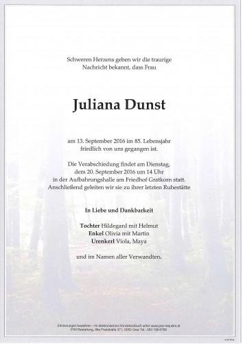 Juliana Dunst