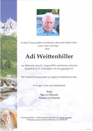 Adolf Weittenhiller