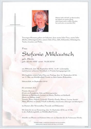Stefanie Miklautsch
