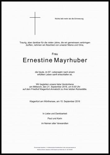Ernestine Mayrhuber
