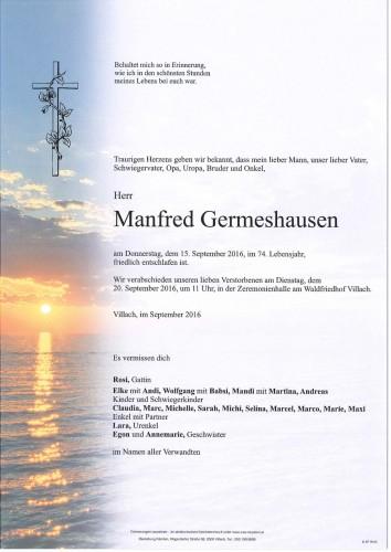 Manfred Germeshausen