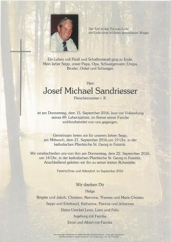 Josef Sandriesser
