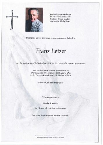 Franz Letzer
