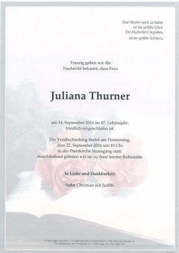 Juliana Thurner