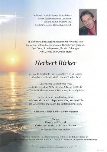 Herbert Birker