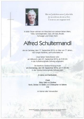 Alfred Schultermandl