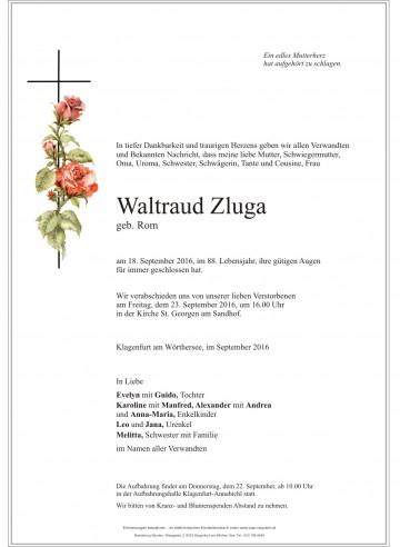 Waltraud Zluga