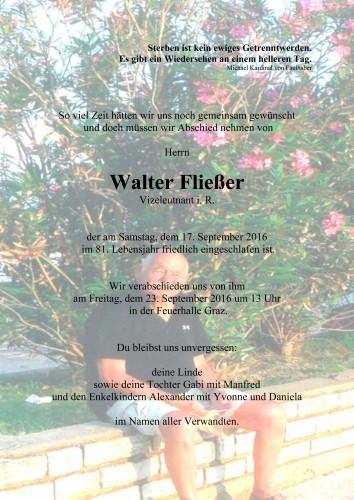 Walter Fließer