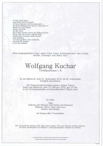 Wolfgang Kuchar
