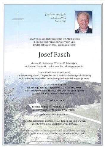 Josef Fasch