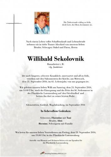 Willibald Sekolovnik