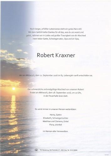 Robert Kraxner