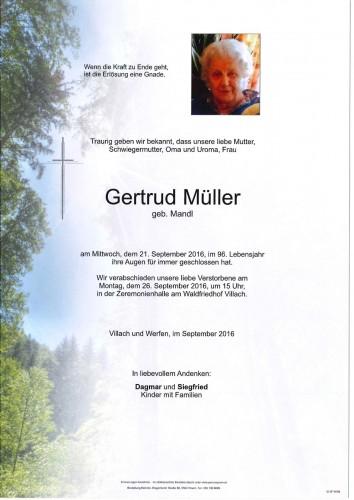 Gertrud Müller