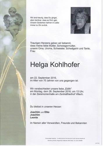 Helga Kohlhofer