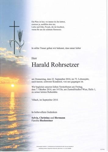 Harald Rohrsetzer