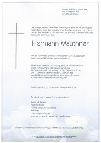 Hermann Mauthner