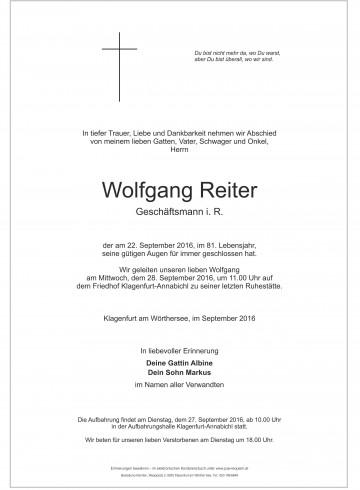 Wolfgang Reiter