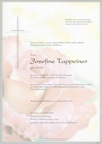 Josefine Tappeiner