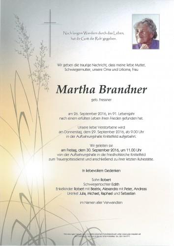 Martha Brandner