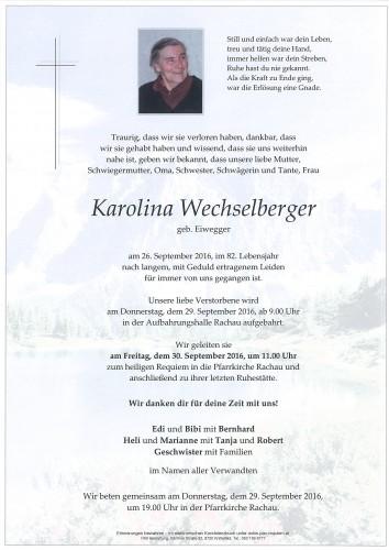 Karolina Wechselberger