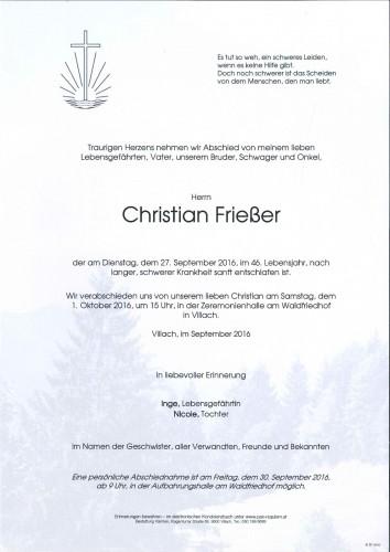 Christian Frießer