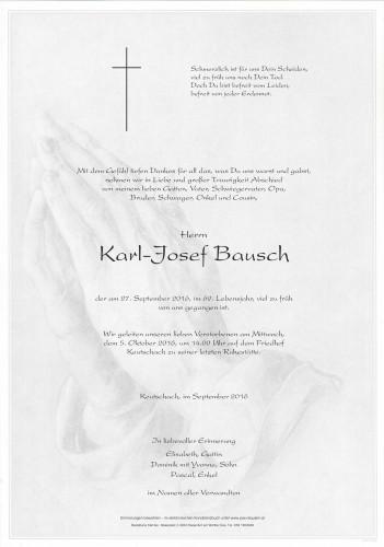 Karl-Josef Bausch