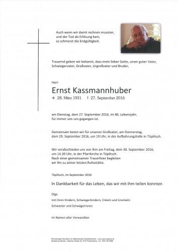 Ernst Kassmannhuber