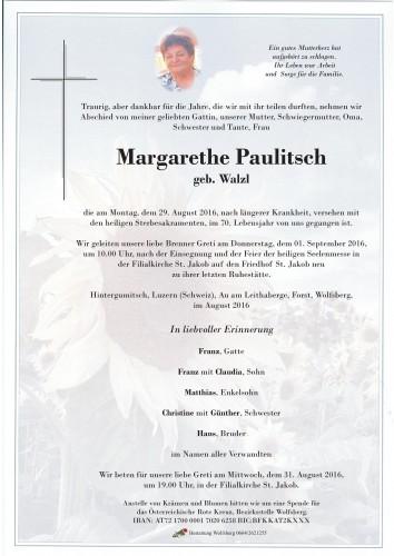Paulitsch Margarethe