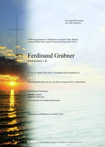 Ferdinand Grabner