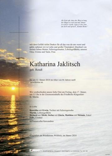 Katharina Jaklitsch