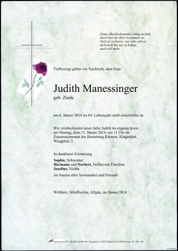 Judith Manessinger