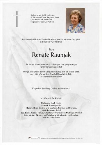 Renate Raunjak