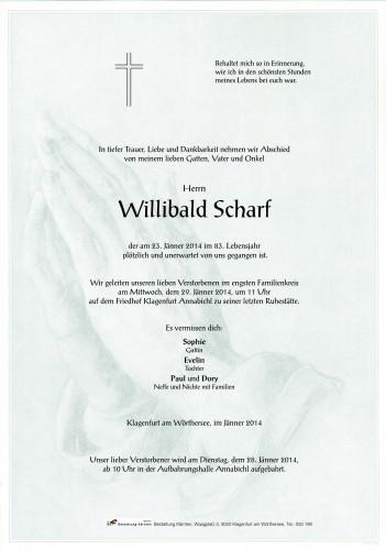 Willibald Scharf