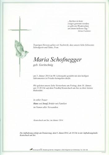Maria Schofnegger