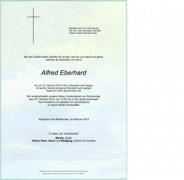 Alfred Eberhard
