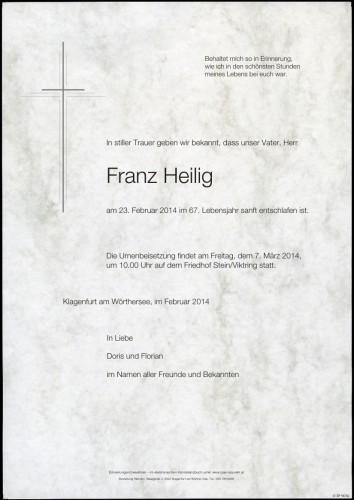 Franz Heilig