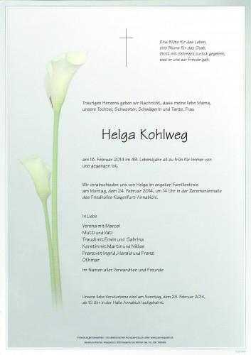 Helga Kohlweg