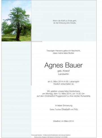 Agnes Bauer