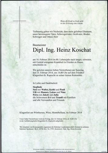 Bestattungskalender Wien