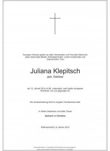 Juliana Klepitsch