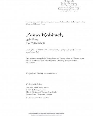 Anna Rabitsch