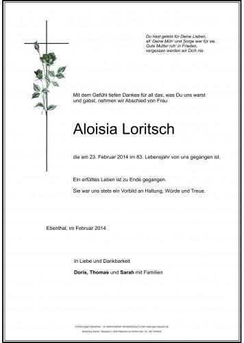 Aloisia Loritsch