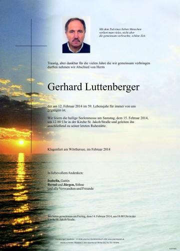 Gerhard Luttenberger