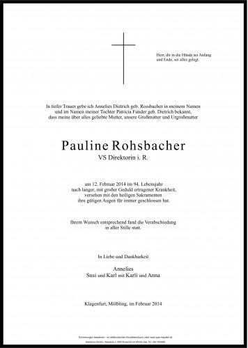 Pauline Rohsbacher