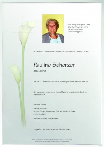 Pauline Scherzer